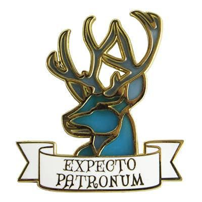 Expecto Patronum Enamel Pin