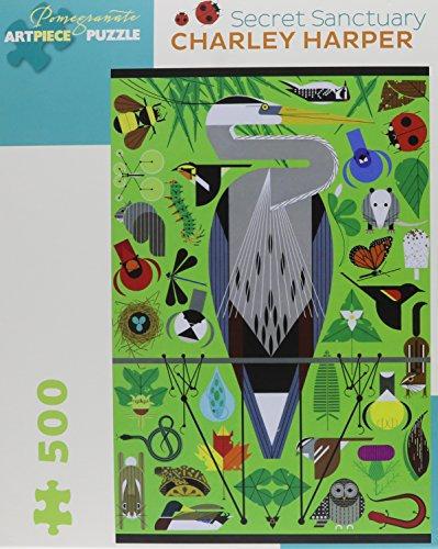 Charley Harper: Secret Sanctuary 500-Piece Jigsaw Puzzle