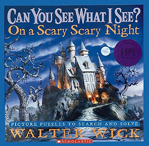 Can You See What I See?: On a Scary Scary Night: Picture Puzzles to Search