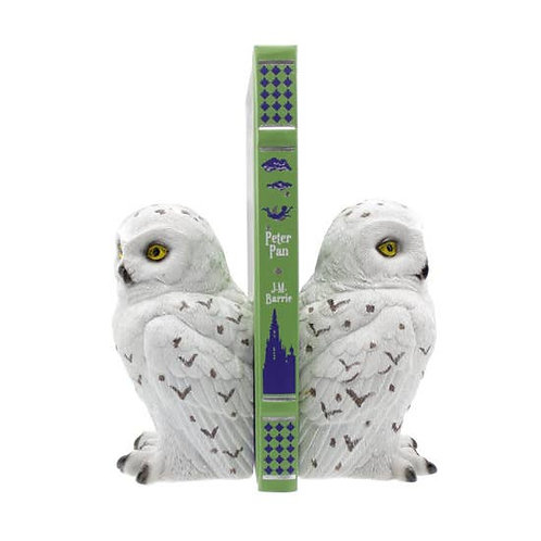 Snowy Owl Bookends