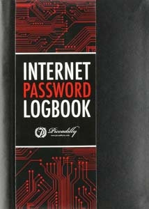 Internet Password Logbook