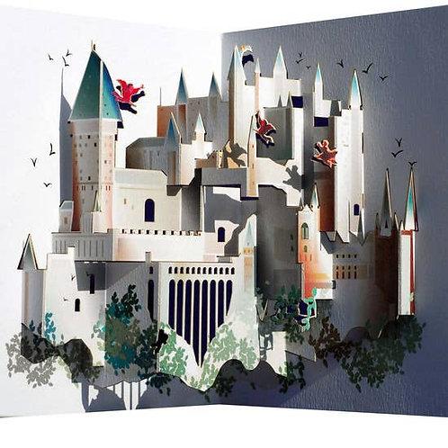 Harry Potter Hogwarts 3D Pop-Up Card
