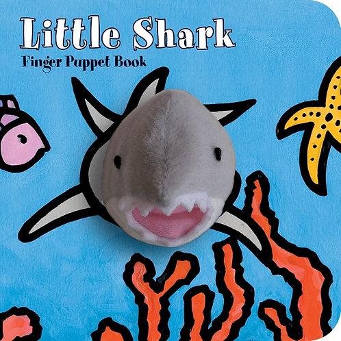 Little Shark, Finger Puppet Book