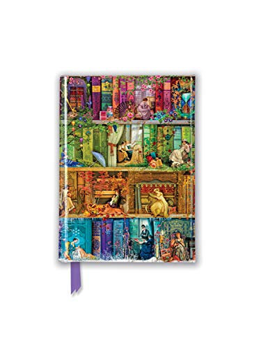 Aimee Stewart: a Stitch in Time Bookshelf (Foiled Pocket Journal)