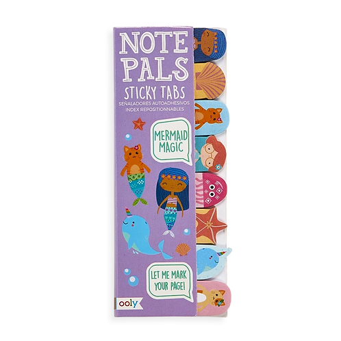 Note Pals Sticky Tabs - Mermaid Magic