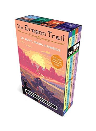 The Oregon Trail (Bargain Book, paperback boxed set plus poster map)