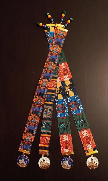 Harry Potter Hogwarts Ribbon Bookmarks