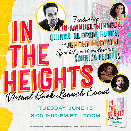 In The Heights PREORDER and VIRTUAL EVENT (June 15, 2021)