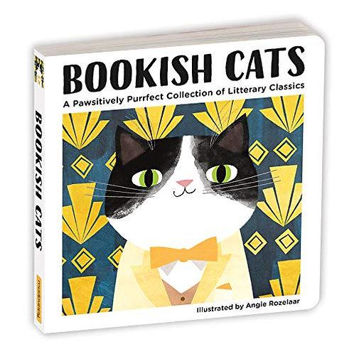 Bookish Cats, Boardbook