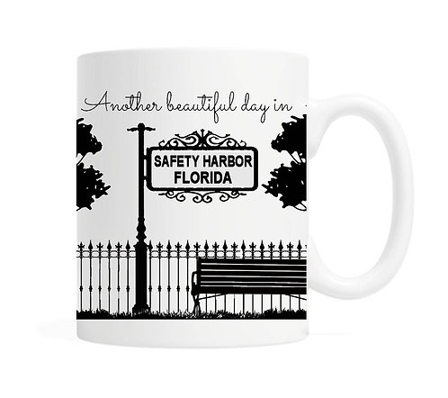 A Beautiful Day in Safety Harbor Mug