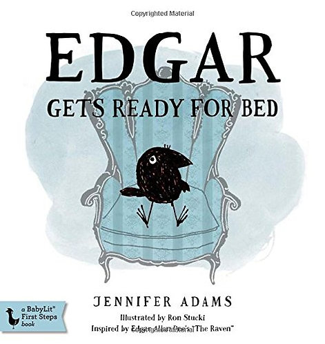 Edgar Gets Ready for Bed Board Book (Babylit First Steps)
