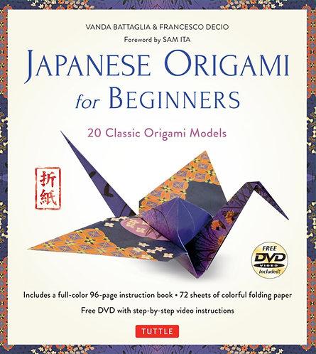 Japanese Origami for Beginners Kit & DVD