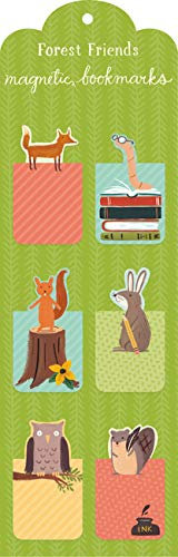 Forest Friends Magnetic Bookmark