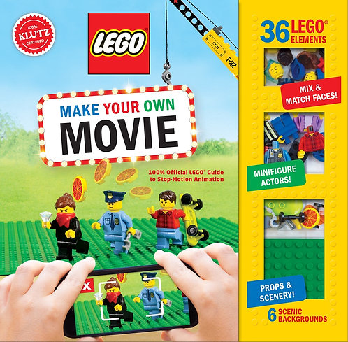 LEGO Make Your Own Movie : LEGO Guide to Stop-Motion Animation (15% Off*)