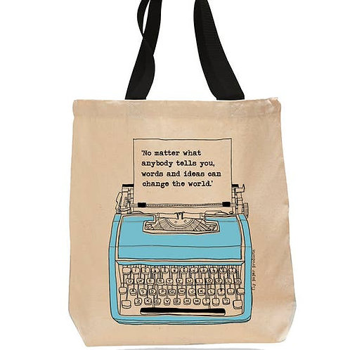 Words and Ideas Can Change the World Tote Bag