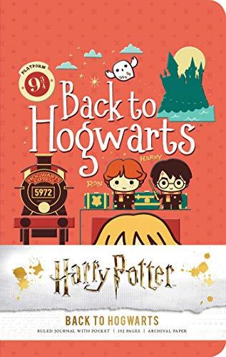 Harry Potter: Back to Hogwarts Ruled Pocket Journal