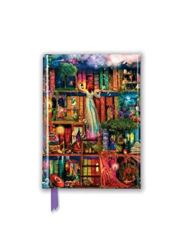 Aimee Stewart: Treasure Hunt Bookshelves (Foiled Pocket Journal)