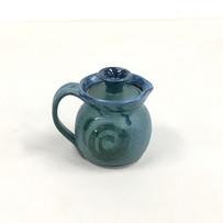 Lidded Pitcher-Porcelain Clay