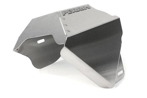 PERRIN Turbo Heat Shield Brushed - Subaru Turbo Models