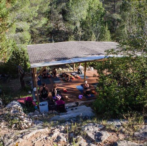 yoga deck and fresh air