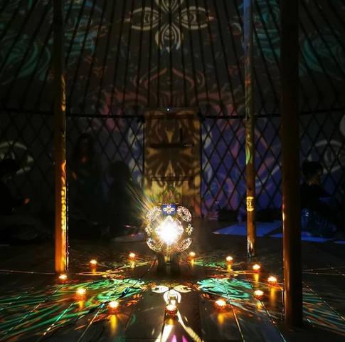 our Yurt ceremony: magic happens!