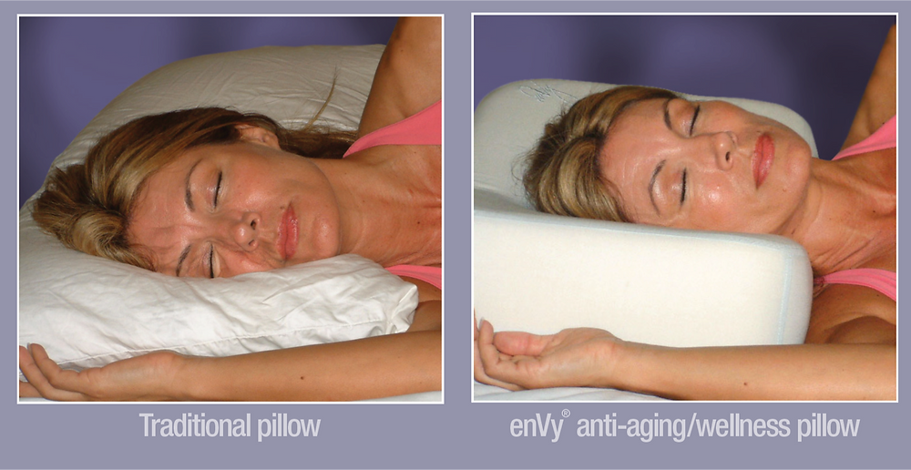 enVy Pillow CPAP/TMJ/Antiaging/Antimicrobial Pillow