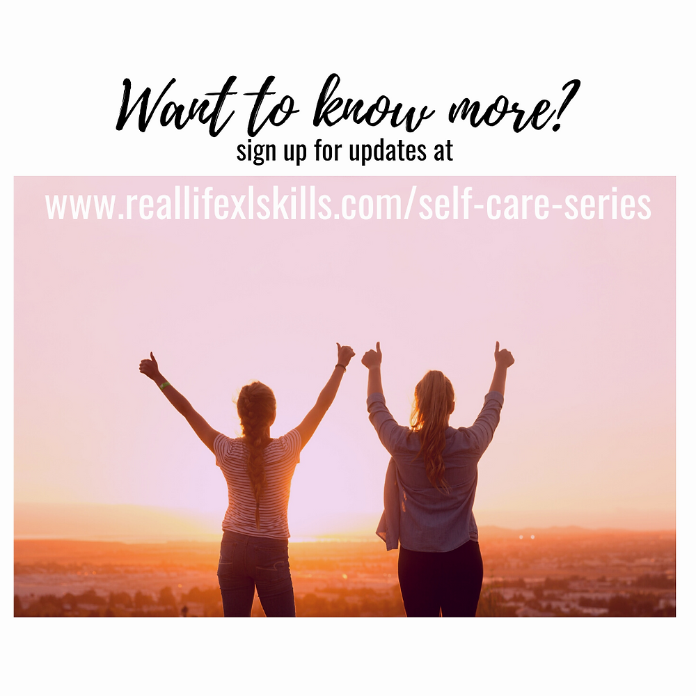 Real Life XL Skills & Mandala Massage: Self-Care Series