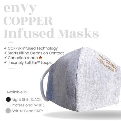 enVy COPPER Masks