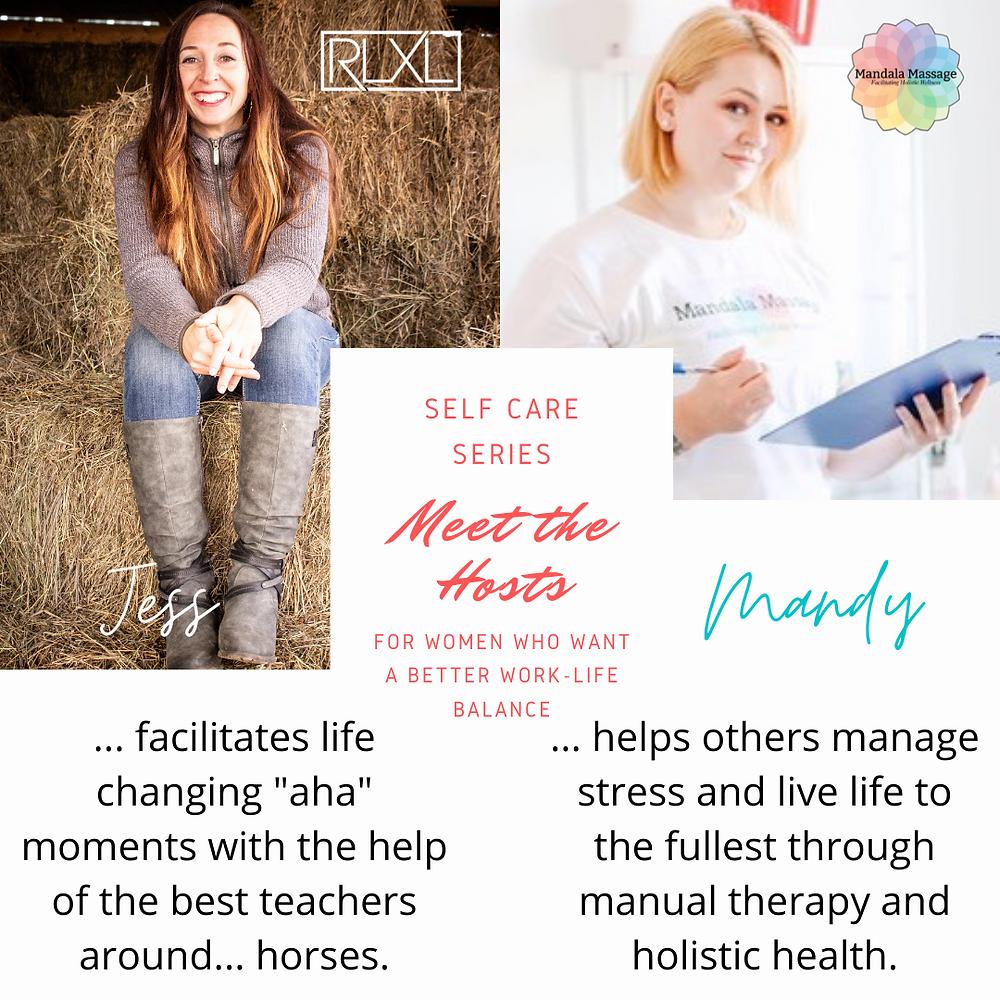 Real Life XL Skills & Mandala Massage: Self-Care Series