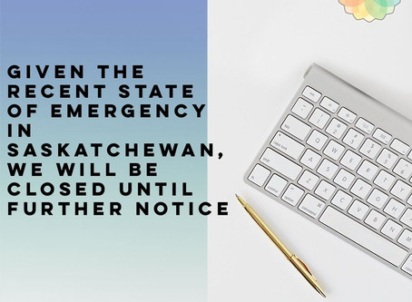 Temporary Closure: SK State of Emergency