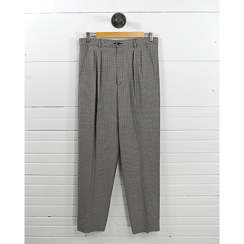 Yves Saint Laurent Checkered Trouser #170-154