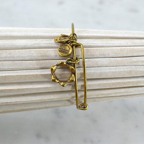 Alex + Ani Crown Charm Bracelet #150-2056