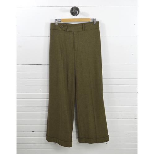 Ralph Lauren Wide Leg Wool Trousers #170-33