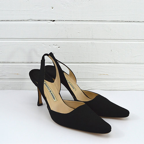 Manolo Blahnik Sling Back Heels #170-390