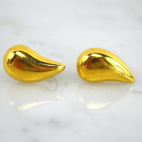 Napier Heart Clip-On Earrings #176-34