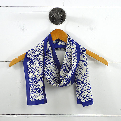 Longchamp Silk Print Scarf #150-52