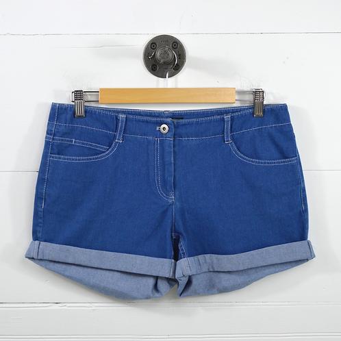 Theory Cuffed Denim Shorts #154-57