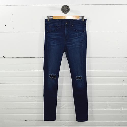 Rag And Bone/Jean '10 Inch' Skinny Jean #106-2