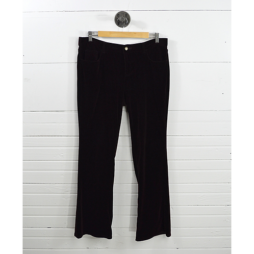Ralph Lauren 'Black' Label Velvet Pants #170-153