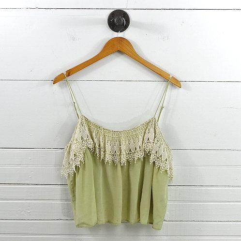Odylyne Lace Crop Top #147-21