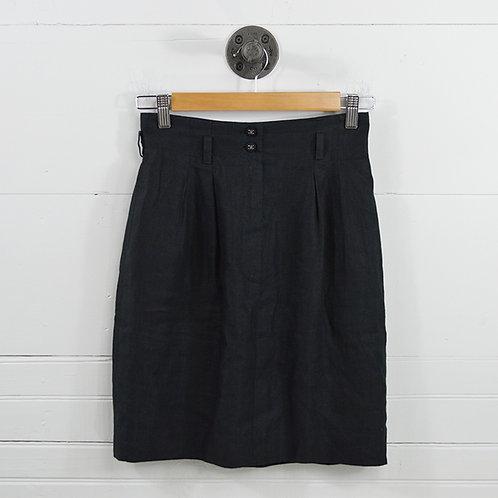 Chanel Linen High Waist Skirt #170-430