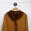 Thumbnail: Stefania Saree Shearling Fringe Trim Coat #170-64