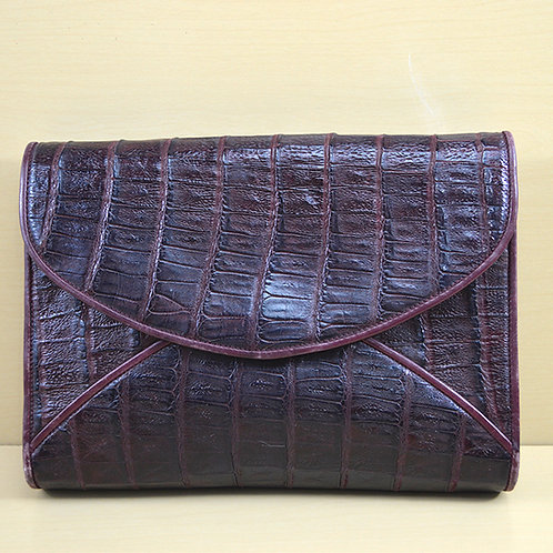Donna Elissa 'Crocodile' Print Bag #170-170