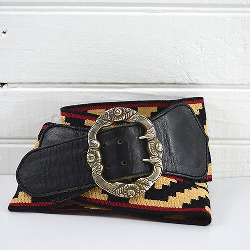 Arandu Tribal Print Belt #177-6