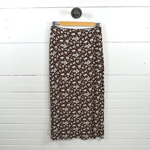 Dkny 'Floral' Midi Skirt #174-38