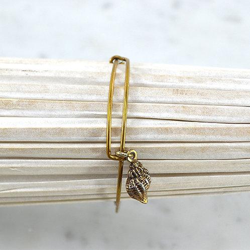 Alex + Ani Shell Charm Bracelet #150-3114