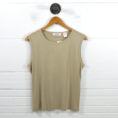 Equipment Silk T-Shirt Top #170-408