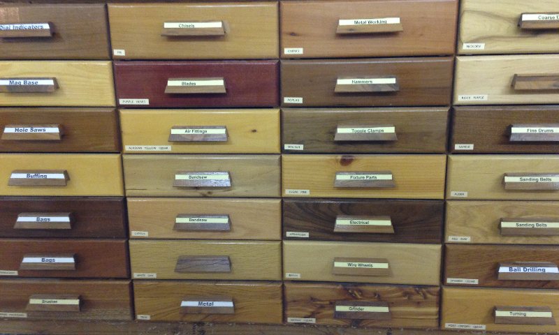Different Wood Drawers