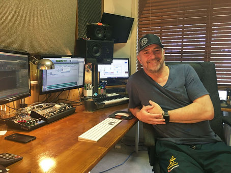 Robbo In The Audio Studio