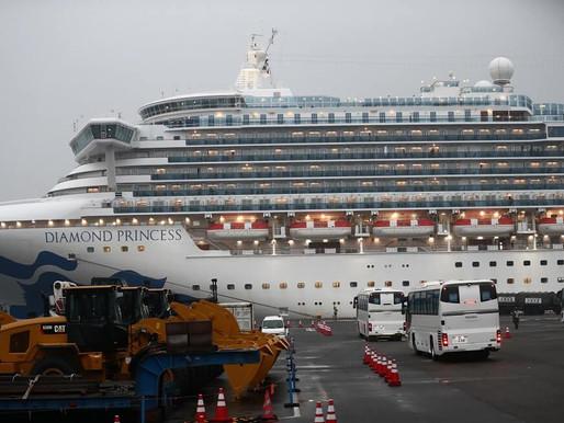 Colombiano a bordo de crucero en Japón dio positivo en prueba de coronavirus